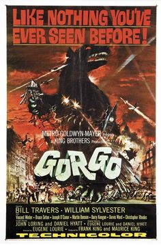 Gorgo movie poster