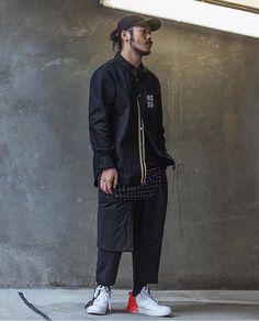 INDEXAMO Fit by @waleyg Shot by @es._.ke  Raf Simons Shirt Arc'teryx Cap A…