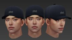 ArtStation - man face test , mina kim