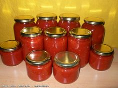 Healthy Cooking, Cooking Recipes, Healthy Recipes, Canning Tips, Canned Tomato Sauce, Food Decoration, Greek Recipes, Soul Food, Food Hacks
