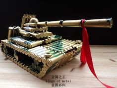 taobao agent Empty bullet shells armored tank military craft camouflage dial tank model