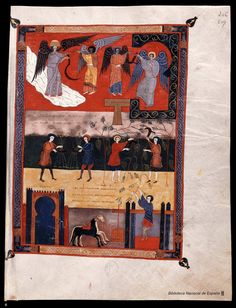 Beato de Liébana. Beato de Liébana , Santo — Manuscrito — 1047  418