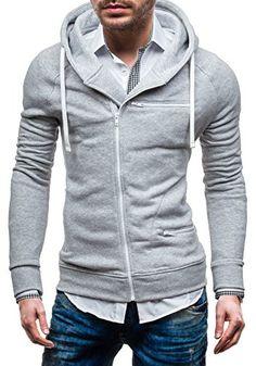 BOLF 31S Grau M [1A1] Herren Kapuzenpullover Sweatshirt Hoodie Kapuze Pullover New