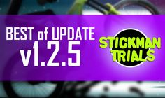 New huge update of Stickman Trials is available from last week on Google Play (https://play.google.com/store/apps/details?id=com.tribegames.stickmantrials&hl=en), and most of players already unlocked new tracks, bikes and tested their skills in multiplayer mode. What do you like most of all in the new update? #app #game