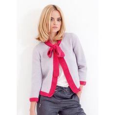 Bella Jacket in MillaMia Merino Wool - Downloadable PDF