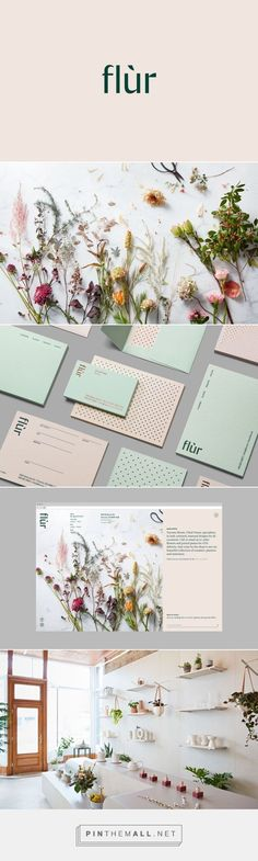 Flùr Identity on Behance By Tung