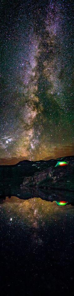camping on taylor pass - photo by thomas o'brien