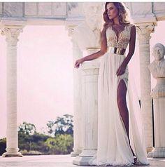 Sexy wedding dress!