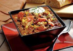 Crock pot Turkey chili!