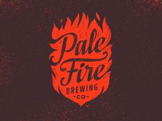 Pale Fire Brewing Identity by Emrich Co.