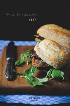 Auberginen-Sandwich...