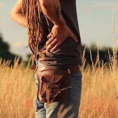 ❤️❤️ Our Marrakesh #handmade #leather #hipbag #formen & #forwomen !! ❤️❤️…