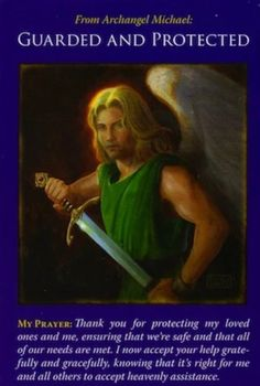 Angelic Message For 3/15/21: From Archangel Michael: Guarded and Protected. Angel Guidance, Spiritual Guidance, Archangel Prayers, Soli Deo Gloria, Doreen Virtue, Archangel Michael, Michael Angel, Angel Cards, New Energy