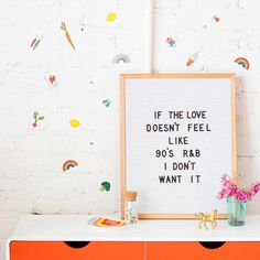 Letterboards will always help you get your point across.