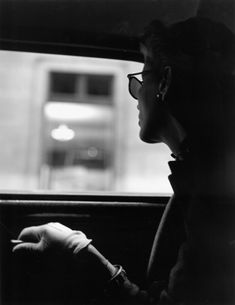 Fernand Fonssagrives Taxi Cab, Lisa Fonssagrives, New York, 1945