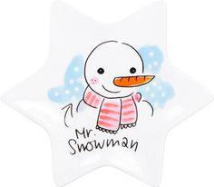 Kerstschaaltje snowman