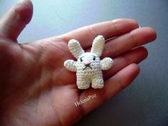 Alice's White Rabbit, free pattern by Allison Hoffman, thanks so xox