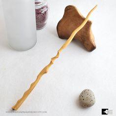 "11 3/4"" Wood Wand #198-300, harry potter wand inspired Magic Wand, wedding wand, Custom Wand, fairy wand, crystal wand, wands, wooden wands"