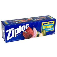 Ziploc Freezer Bags ... Different sizes ... Must-have's when traveling