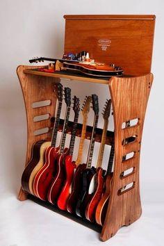 Preferred Guitar storage