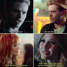 """- - I'm completely broken. Can't stop crying. Not happy with """"happy Clace ending"""". After everything they've been through and she lost all the memories 💔😭 Mortal Instruments Movie, Shadowhunters The Mortal Instruments, Clary E Jace, Jace Lightwood, Shadowhunters Season 3, Dominic Sherwood, Nerd Herd, Clace, The Dark Artifices"""