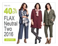FLAX Neutral Two 2016 SALE! Thrifty Thursday Deal for March 23, 2017: Save 40% Off on FLAX Design's FLAX Neutral Two 2016. FLAX Neutral Two 2016 is a great transition collection and an excellent base for FLAX Fall Bold and FLAX Harmony. FLAX Neutral Two has three color yarn-dyes: Asphalt, Oxblood and Denim. Yarn-Dye colors (Asphalt, Denim, Oxblood) are more expensive. Quantities are very limited, so shop our Thrifty Thursday Deal at www.fgclothing.co/thrifty-thursdays/