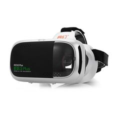 RITECH RIEM3 Plus 3D Glasses Virtual Reality Headset Private Theater Game Video with Capacitive Touch Button For Smartphone