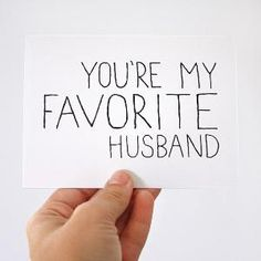 Love → Favorite Husband