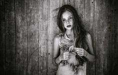 Девушка в душе фотообои #8