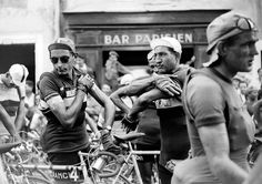 Fausto Coppi and Gino Bartali from Podium Cafe's coverage of Herbie Sykes' book Coppi.