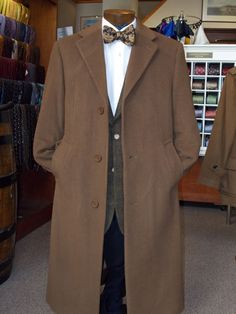 Nice overcoat.  I'd prefer it in black, but like the style.