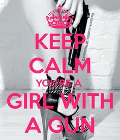 Girls with Guns, Gun Girls, females and firearms, gunpowder and lead. www.TwoCannons.net www.facebook.com/GirlsWithGunsCO
