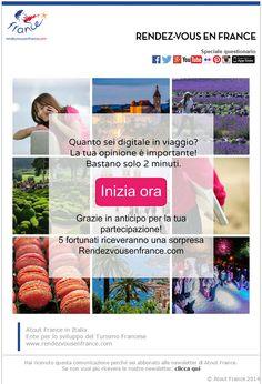 Quanto sei digitale quando viaggi? #RDVFrance #ViaggiFrancia