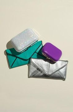 Party perfect clutches.