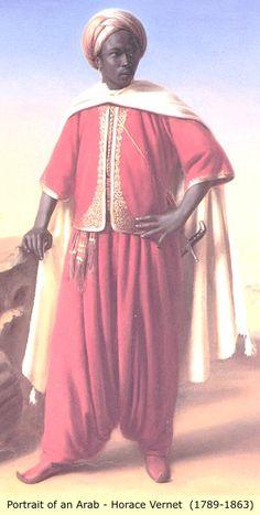 Portrait of an Arab, Horace Vernet (1789-1863)