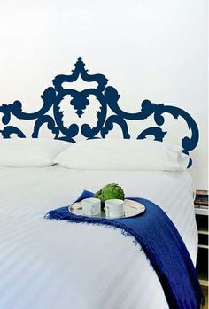 Noncommittal Bed Decor -  The Bilk Decal Headboards