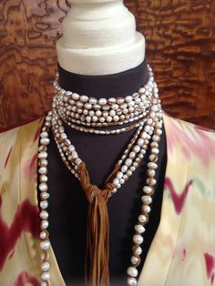 Layer pearls of all sizes
