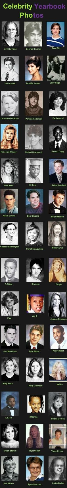 Celebrity Yearbook Photos - Imgur
