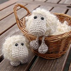 Etu the sheep amigurumi crochet free pattern