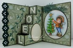 From My Craft Room: NOEL - 4-Step Card