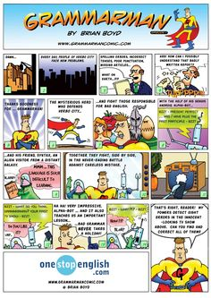 Grammarman: Episode 1: Introducing Grammarman. Here's an example of what the resource looks like.