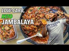 Low-Carb Keto Jambalaya Recipe  /  Jambalaya Baja en Carbos - YouTube