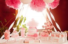 Trendy Ideas Baby Shower Ideas For Girls Themes Pink Decoration Party Planning Baby Shower Table, Baby Shower Favors, Shower Party, Baby Shower Cakes, Baby Shower Parties, Baby Shower Themes, Baby Shower Decorations, Shower Ideas, Shower Prizes