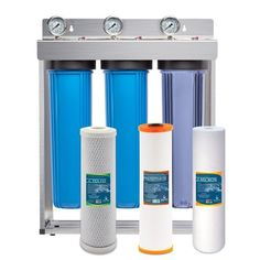 Express Water Heavy Metal Whole House Water Filter – 3 Stage Home Water Filtration System – Sediment, KDF, Carbon Filters – includes Pressure Gauges, Easy Release, and Inch Connections Best Water Filter, Whole House Water Filter, Drinking Water Filter, Water Filters, Home Water Filtration, Reverse Osmosis Water Filter, Healthy Water, Water Coolers, Protecting Your Home