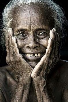 Courtesy of Mata Arif.  I love photographs of soft eyes at any age.