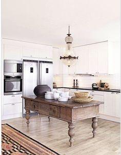 adoro a mesa de cozinha