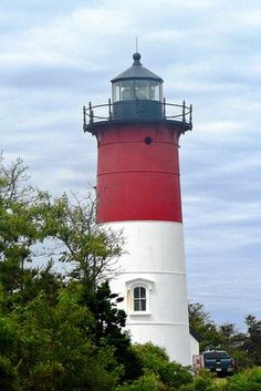 Going Coastal — Nauset Lighthouse, Cape Cod Cape Cod Lighthouses, New England Lighthouses, Lighthouse Painting, Lighthouse Pictures, Cape Cod Ma, Connecticut, Beacon Of Light, Coastal Living, Coastal Cottage