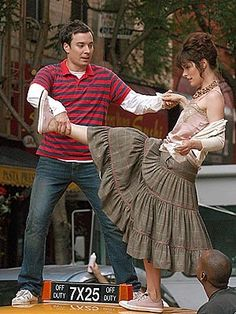 Parker Posey and jimmy fallon