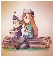 gravity falls wendy and dipper - Google Search