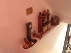 Miniatures in the stairwell